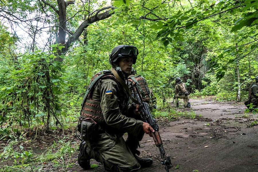 Тренування у Чорнобильській зоні.