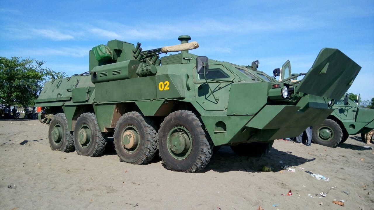 Індонезія успішно протестувала свої БТР-4М з України