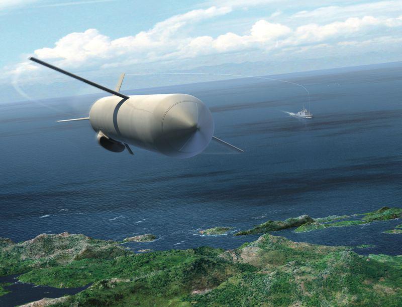 Розробка корабельної ракетної зброї у провідних зарубіжних країнах