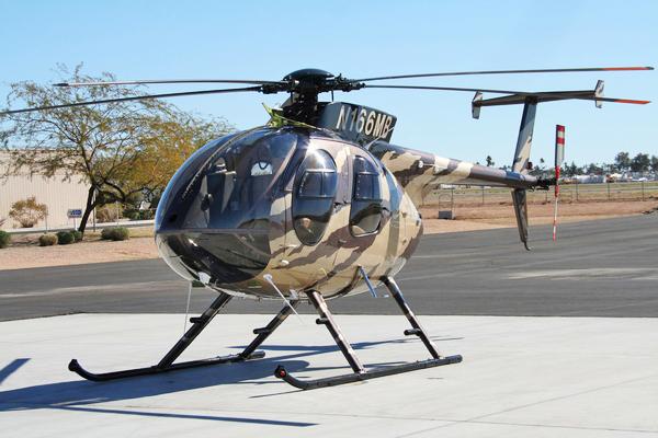MD Helicopters поставить 54 вертольота MD-530F для ВПС Афганістану