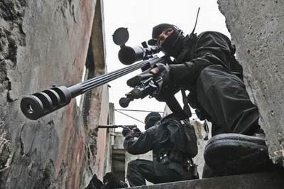 Снайпер ЦСО СБУ (Аьлфа)