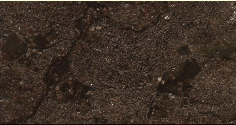 Перші фото турецького супутника