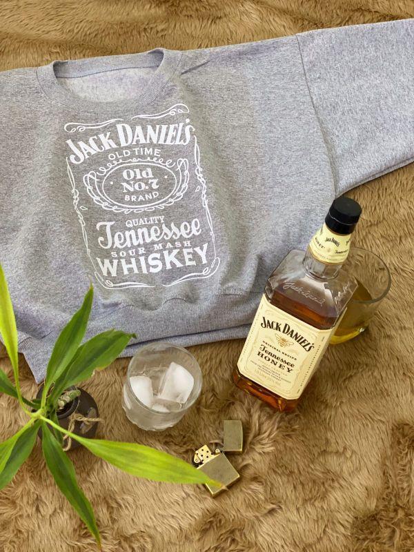 Hoddie crop Jack Daniels 1