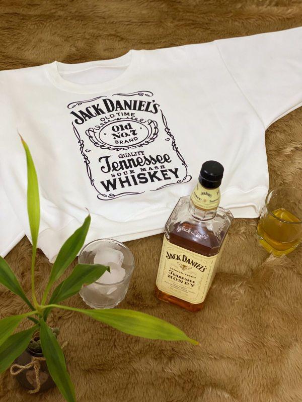 Hoddie crop Jack Daniels