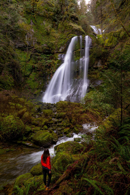 Oregon Coastal range Waterfall