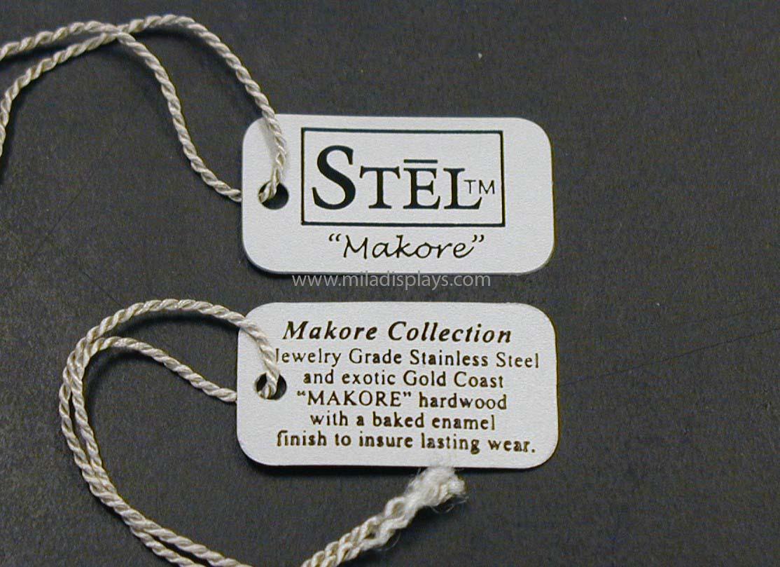 PVC Flexible Plastic String Tags, Brand Tags, Jewelry
