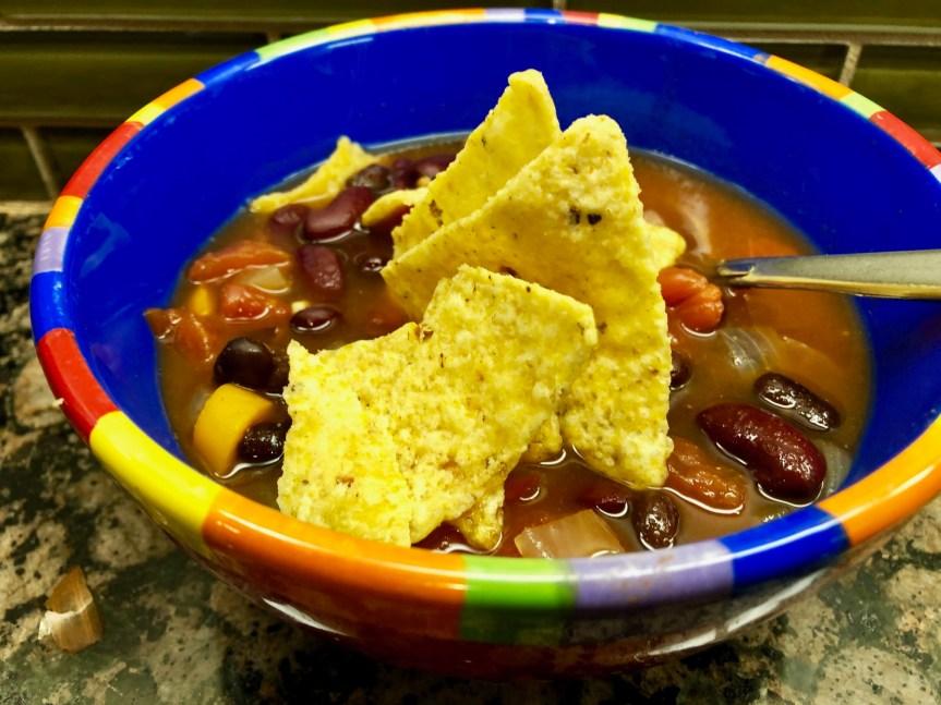Meatless Monday: IP Tortilla Soup (vegan)