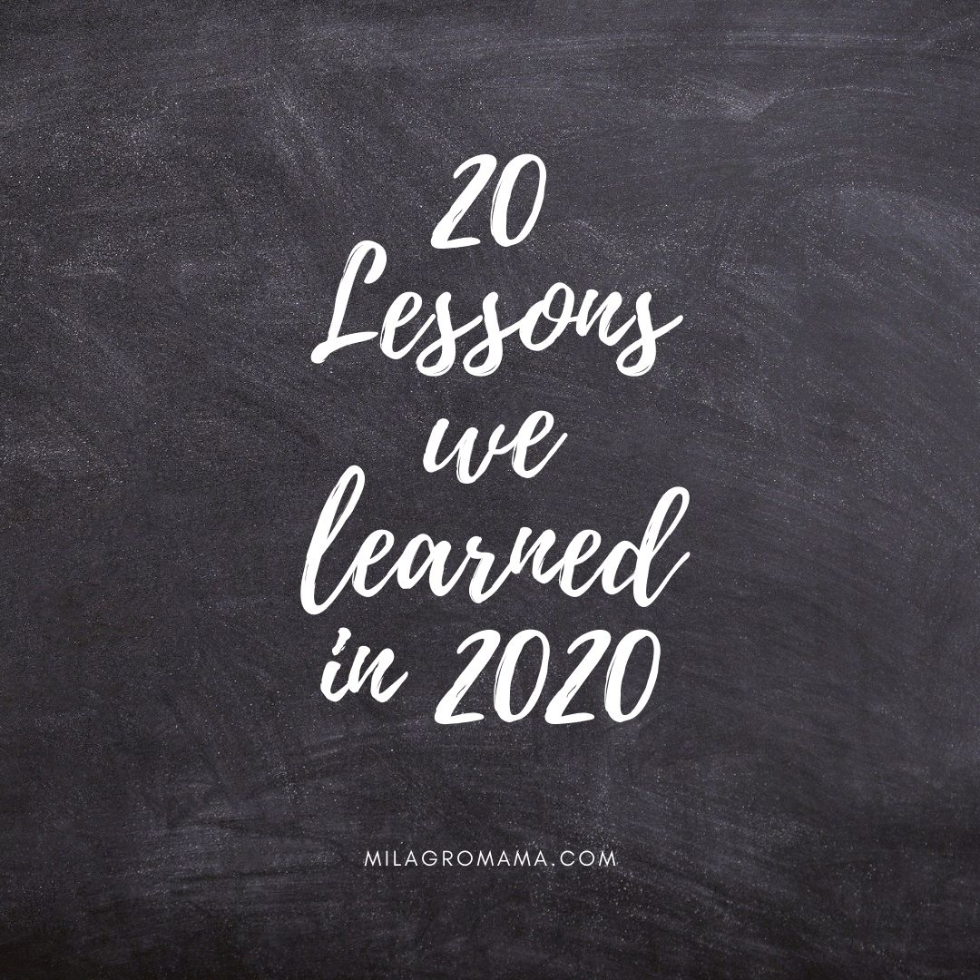 20 Lessons We Learned in 20 – Miracles in the Mundane