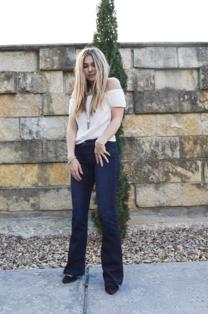 Bell Bottom Girl You Make the Rocking World Go Round' MilanDarling.com, Bell Bottom Flare Jeans and 70's Vibes