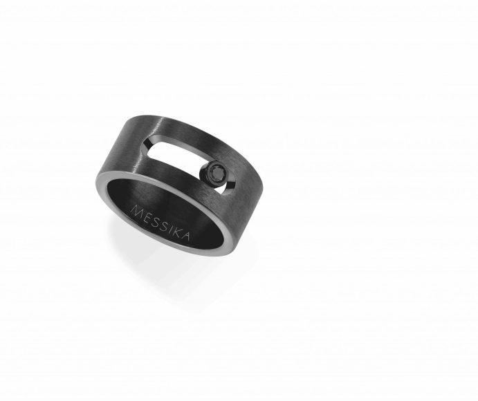 Messika Joaillerie - Bague Titanium Noir 6561