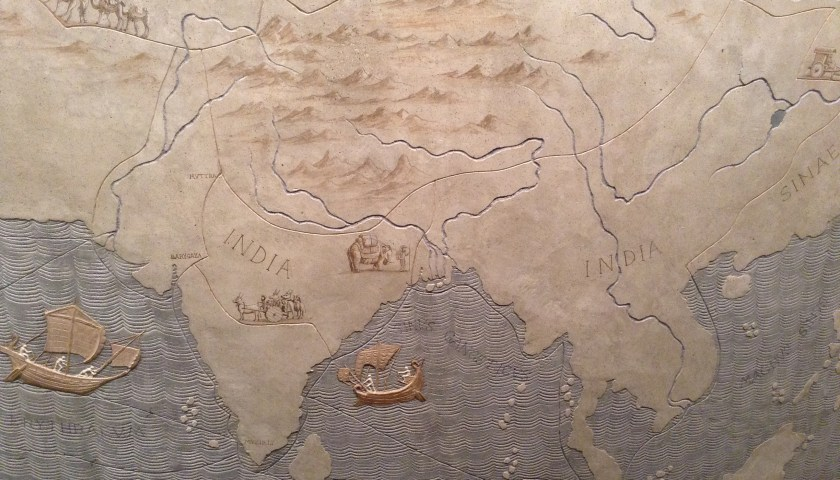 India on ancient Roman map, How to trump racism