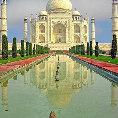 Taj Mahal, travel economics for India