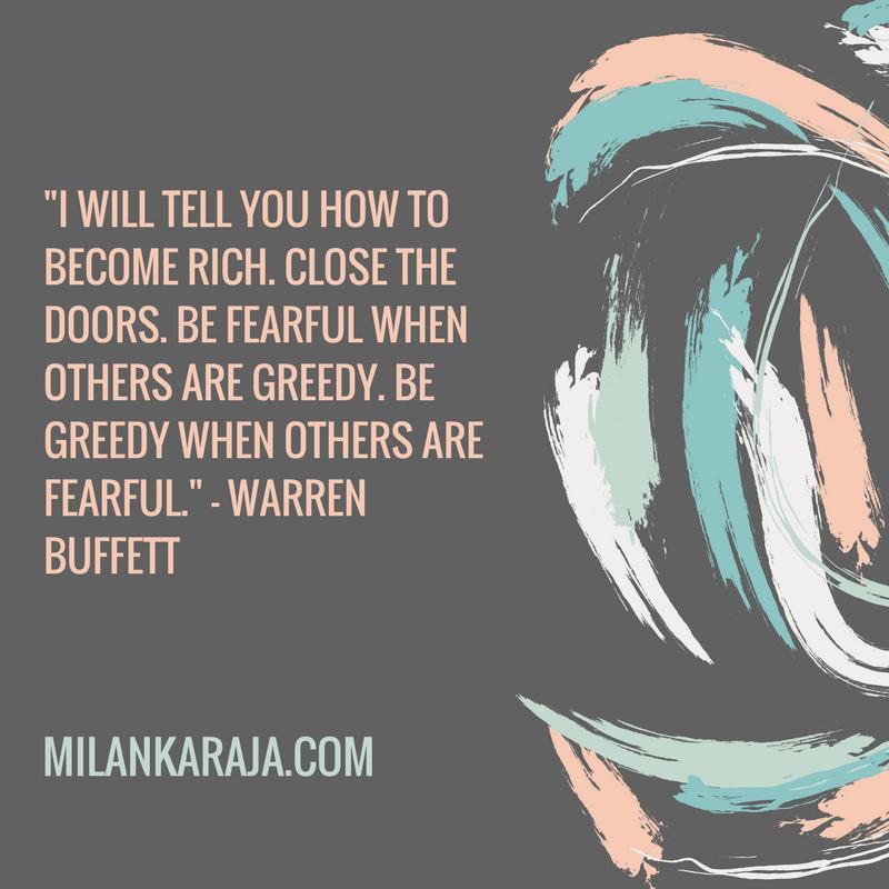 Warren Buffet Quote, MilankaRaja.com