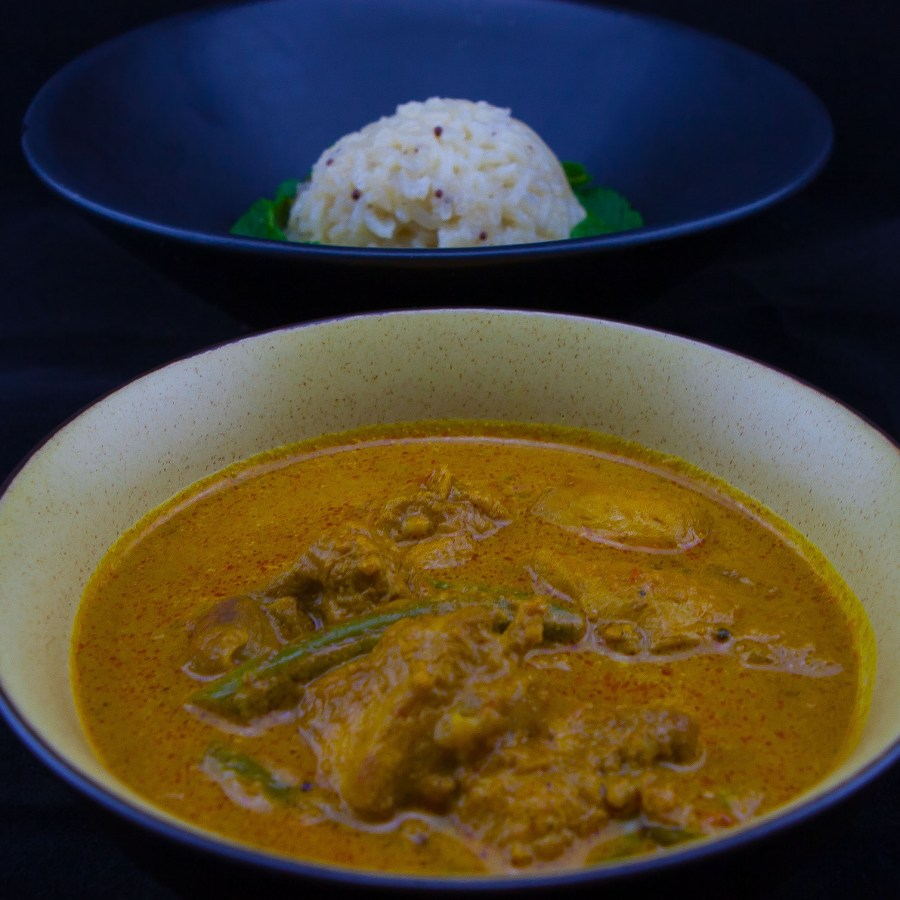 South Indian Style Chicken Curry