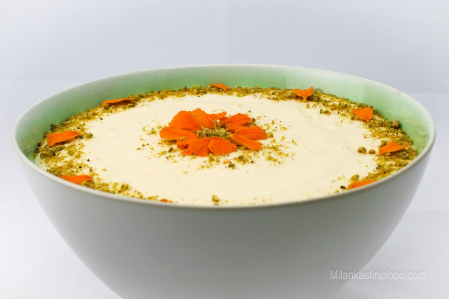 Zesty Citrus Mousse (A refreshing dessert)