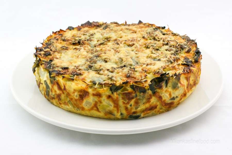 Mouthwatering Leek & Potato Bake