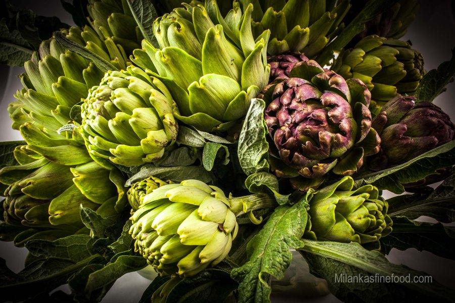 Pickled Artichoke Hearts (Carciofo)