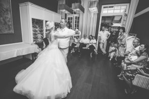 Svadba v Bratislave v Au Cafe, prvy tanec