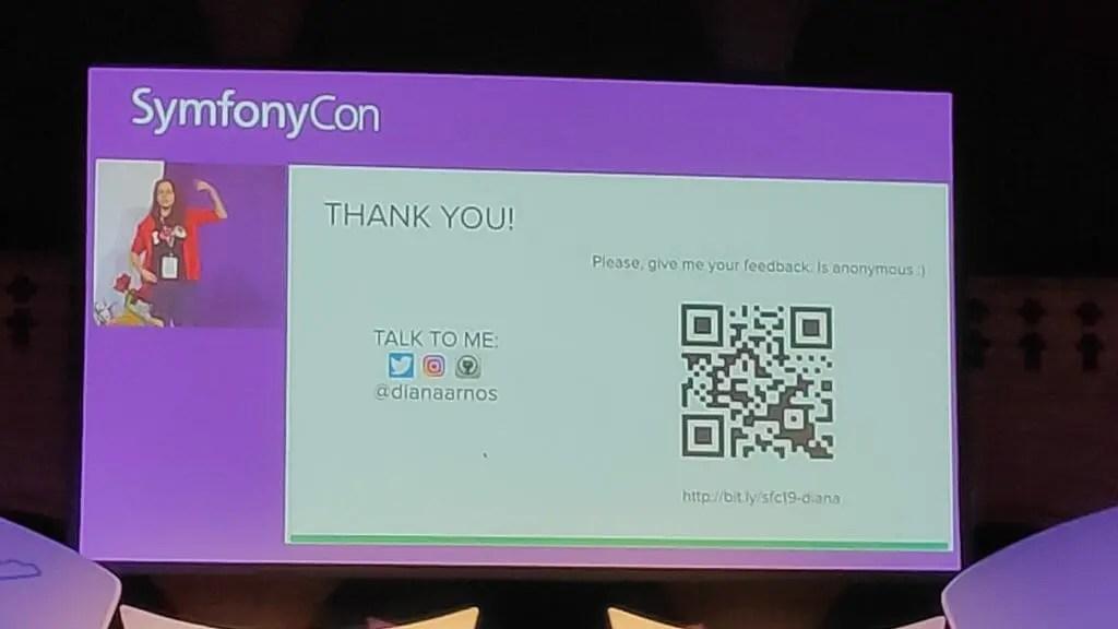 SymfonyCon 2019 - php popular thank you