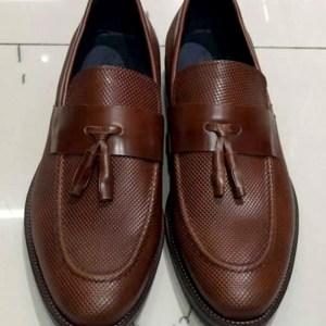 Παπούτσια leather brown 115€-79€
