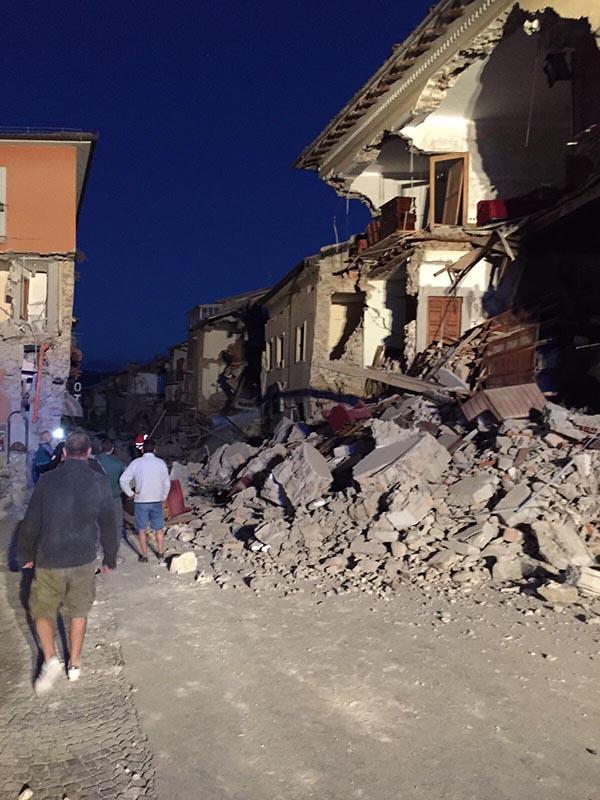 Terremoto 01 - 24 agosto 2016 Amatrice