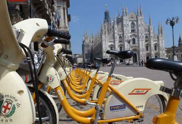 "Bike Sharing a Milano, al via il ""free floating"""