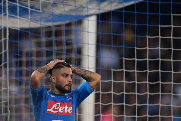 L'Inter pareggia con il Napoli al San Paolo: 0-0