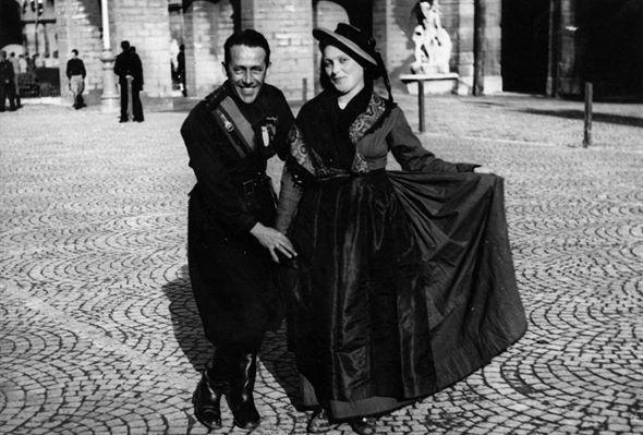 """Lamberto Bertolé all'inaugurazione della mostra """"1916 - 1926. Il fascismo da movimento a regime"""""""