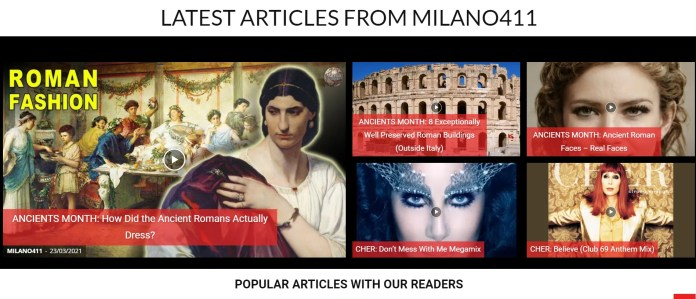 MILANO411.com Speaks: Ancients Month In Review! | MILANO411