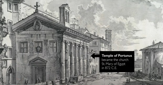ANCIENTS MONTH: Rome before the Empire, the Temple of Portunus | MILANO411