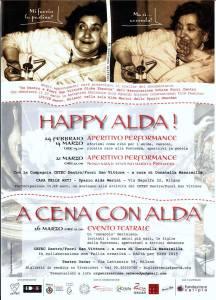 La locandina di questa e altre iniziative artistiche del CETEC Dento/Fuori San Vittore
