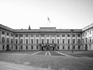 La facciata piermariniana di Palazzo ducale (foto gentilmente concesssa da Marco Introini)