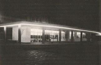 La stazione ATM a Porta Volta nel 1952