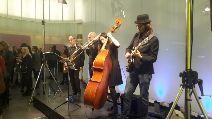 Il gruppo Sound 4 durante l'esibizione al Mudec