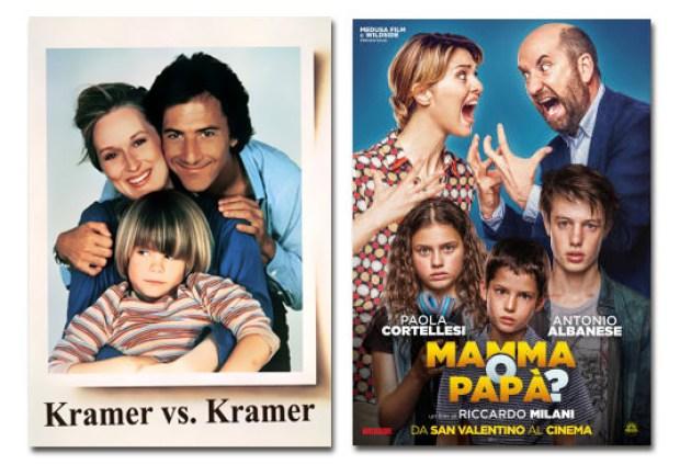 Il tema dei genitori separati è da sempre protagonista nei film di ieri e di oggi