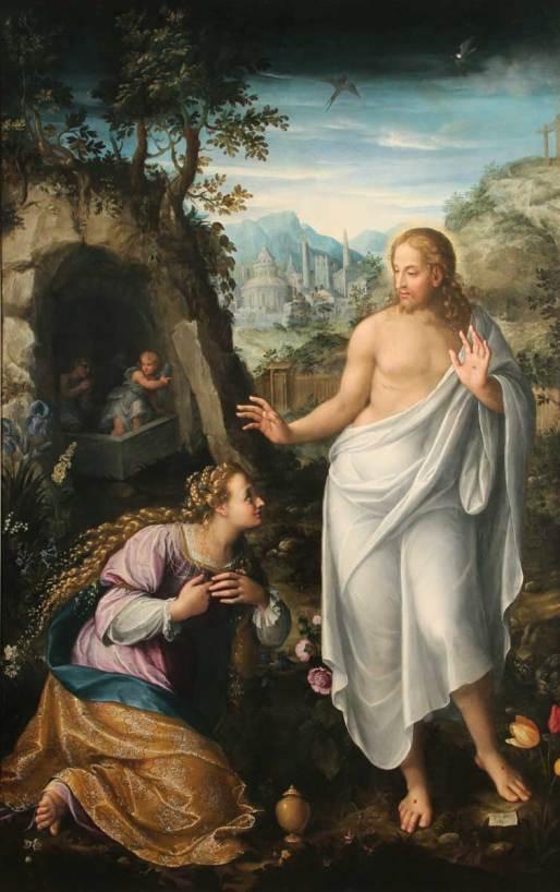 Noli me tangere di Fede Galizia, già nella chiesa delle umiliate di S. Maddalena