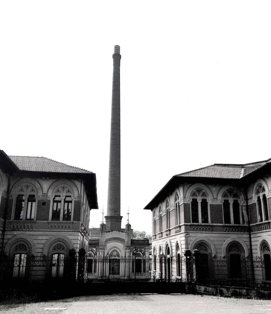 L'ingresso della Fabbrica