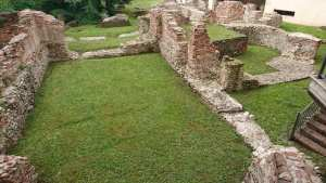 Ruins of The Roman Imperial Palace in Milan