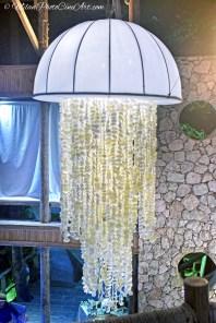Jellyfish lamp, Jellyfish restaurant, MilanPhotoCineArt Photo
