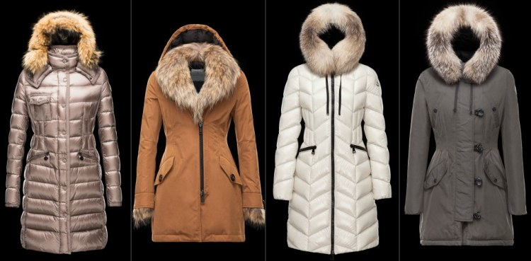 Парки Moncler коллекция Зима 2015-2016