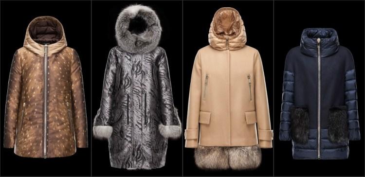 Пуховики Moncler коллекция Зима 2015-2016