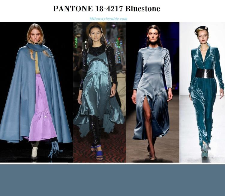 Pantone 18-4217 Bluestone fall winter 2019 2020