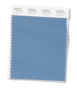 PANTONE 17-4021 Faded Denim - Выцветший деним