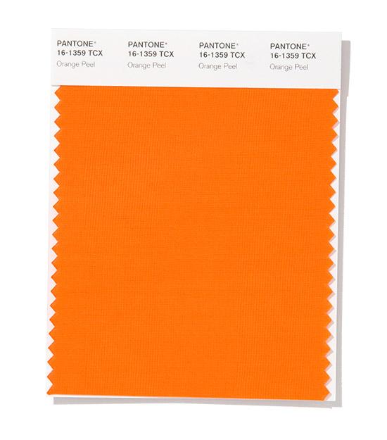 PANTONE 16-1359 Orange Peel - Апельсиновая корочка