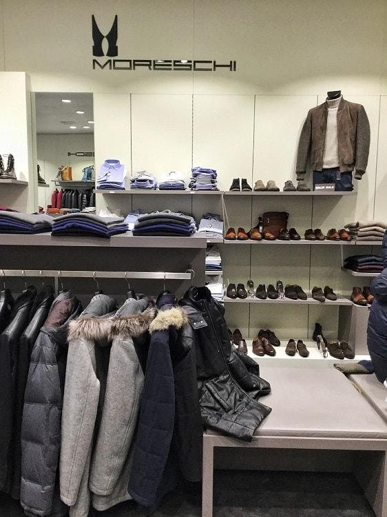 обувь и кожанные куртки в Serravalle outlet 2017