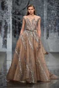 Свадебное платье вышивка Ziad Nakad Haute Couture 2017