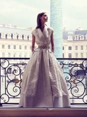 красивое Свадебное платье Alexis Mabille Haute Couture осень-зима 2017/18