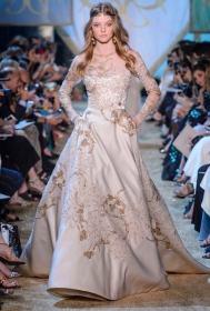 Свадебное платье Elie Saab Haute Couture осень-зима