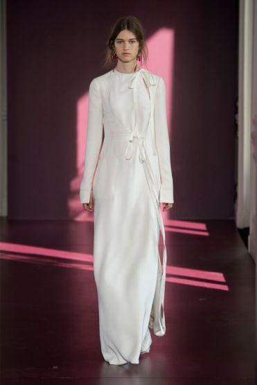 оригинальноес рукавом Свадебное платье Valentino Милан Haute Couture осень-зима 2018