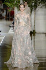 Свадебные платья с руковом Zuhair Murad Haute Couture осень-зима 2017/18